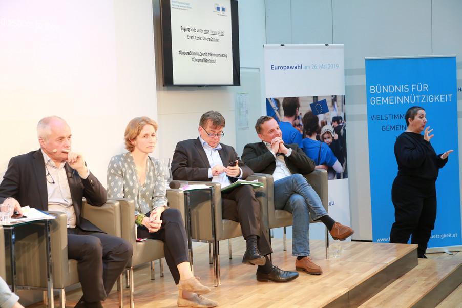 Bild 102 | Europawahl 2019: Die Europäische Zivilgesellschaft im Dialog