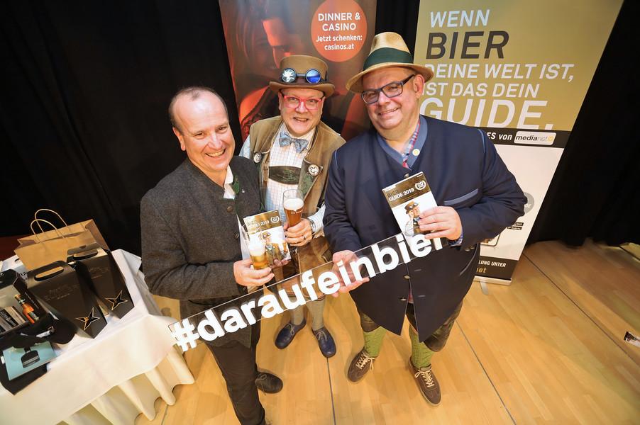 Bild 1 | Präsentation des Bier Guide 2019 im Casino Linz