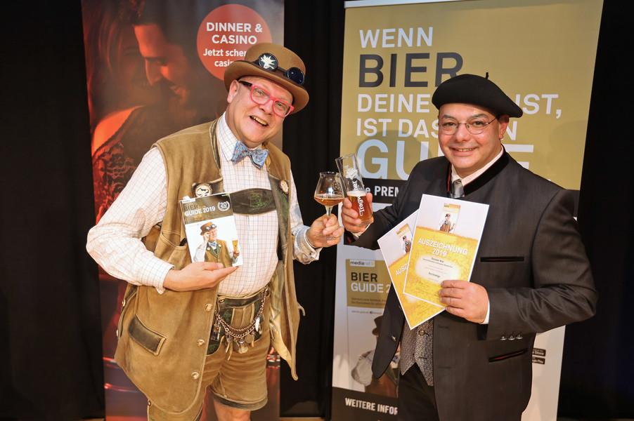 Bild 18 | Präsentation des Bier Guide 2019 im Casino Linz