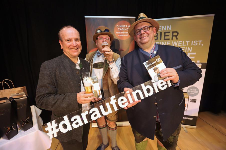 Bild 155 | Präsentation des Bier Guide 2019 im Casino Linz