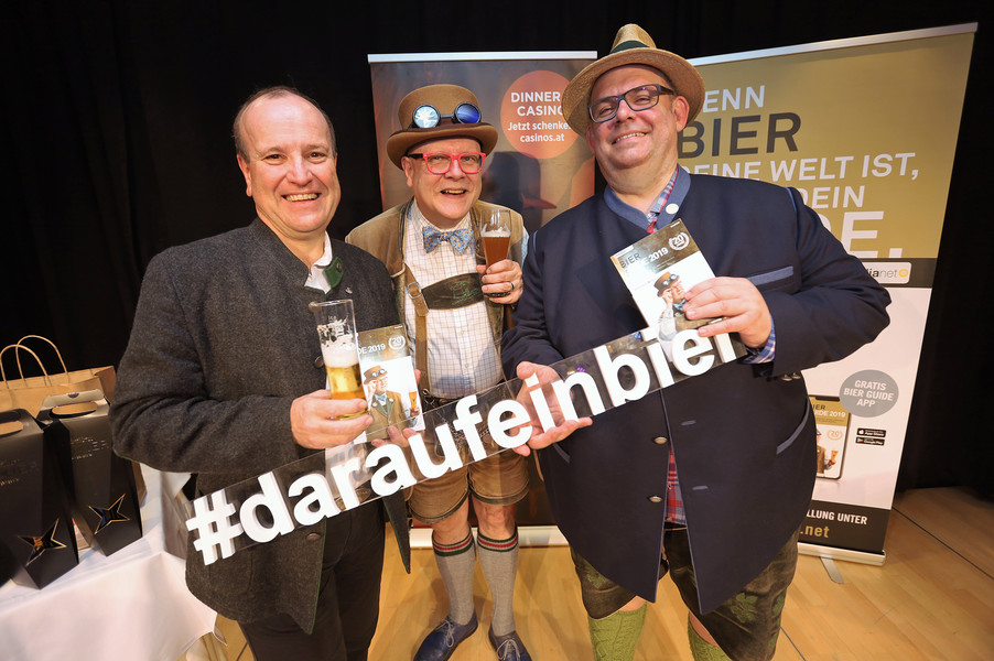 Bild 157 | Präsentation des Bier Guide 2019 im Casino Linz
