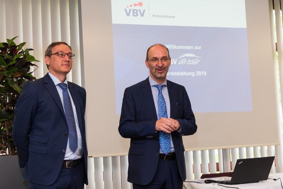 Bild 5 | v.l.n.r.Mag. Harald Amon VBV-Pensionskasse, Veranlagung und Martin Cerny VBV-Pensionskasse, ...