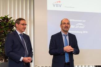 Bild 8 | v.l.n.r.Mag. Harald Amon VBV-Pensionskasse, Veranlagung und Martin Cerny VBV-Pensionskasse, ...