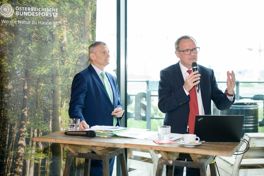 Bild 2 | Bilanz-PK Österreichische Bundesforste (ÖBf) Geschäftsjahr 2018 - Ausblick 2019