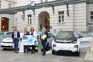 Bild 1 | Meilenstein für E-Mobilität: Österreichweit Laden an 3.500 Ladepunkten mit nur einer Karte