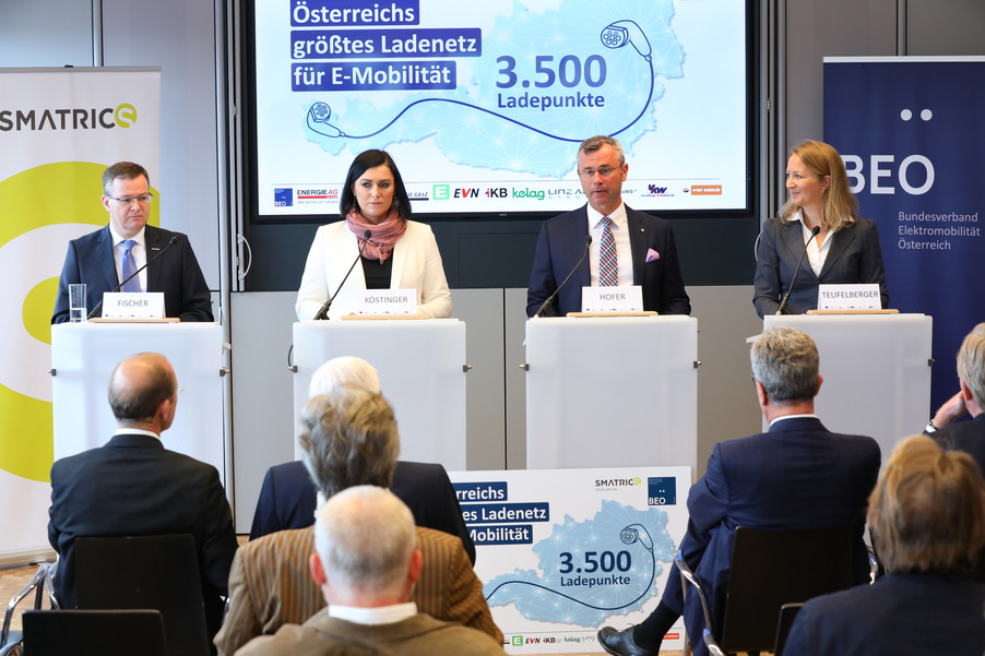 Bild 18 | Meilenstein für E-Mobilität: Österreichweit Laden an 3.500 Ladepunkten mit nur einer Karte