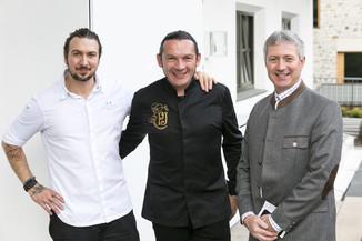 Bild 1 | Löwen Hotel Montafon: Erfolgreiches Four-Hands-Dinner in der Löwen Stube