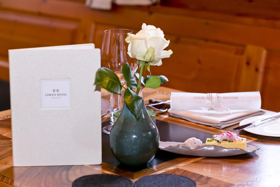 Bild 5 | Löwen Hotel Montafon: Erfolgreiches Four-Hands-Dinner in der Löwen Stube