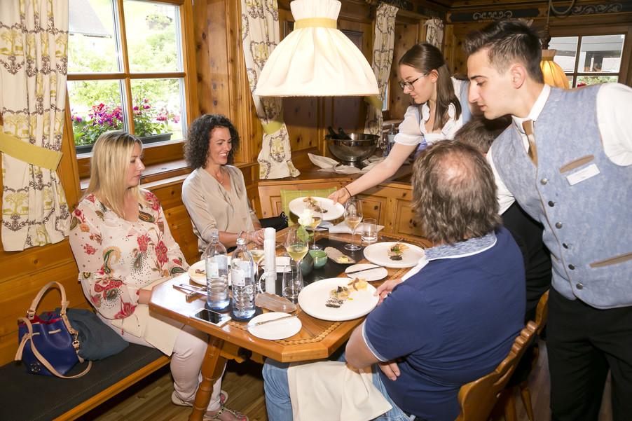 Bild 68 | Löwen Hotel Montafon: Erfolgreiches Four-Hands-Dinner in der Löwen Stube