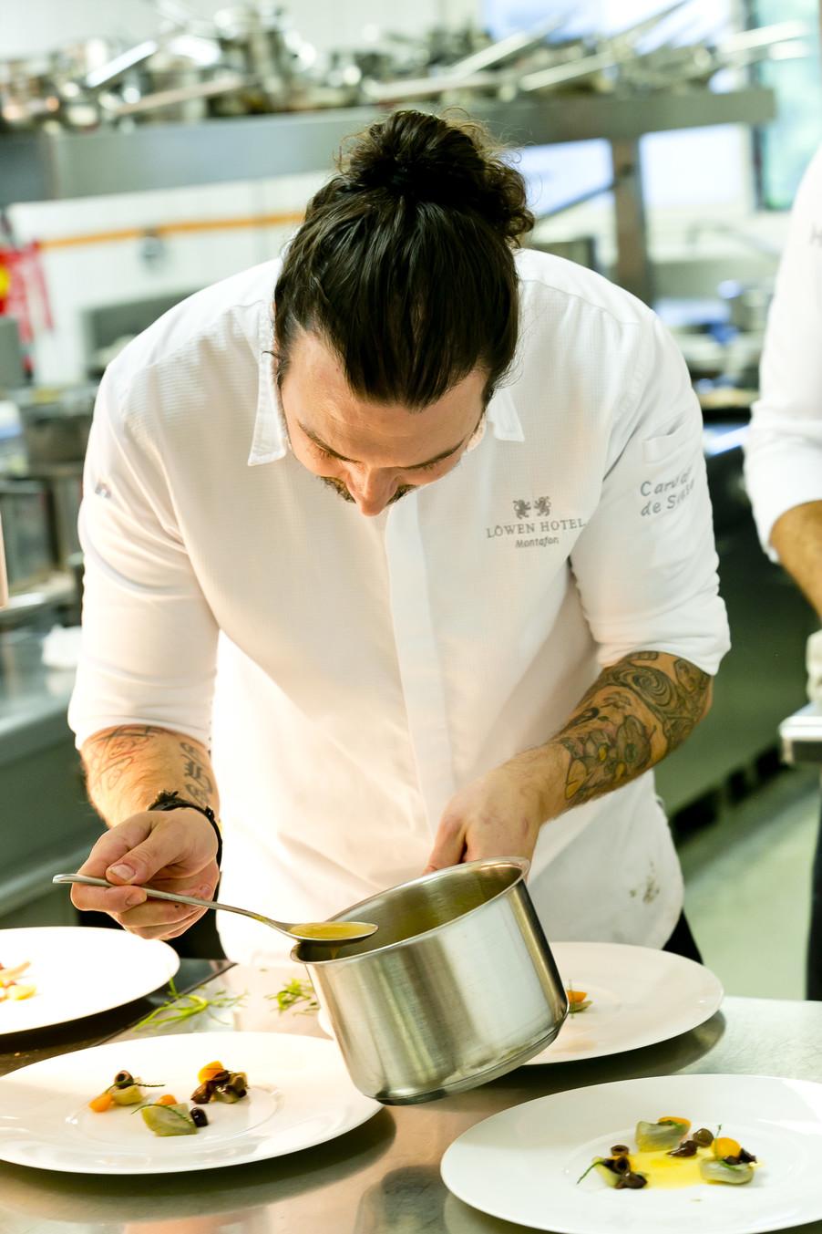 Bild 71 | Löwen Hotel Montafon: Erfolgreiches Four-Hands-Dinner in der Löwen Stube