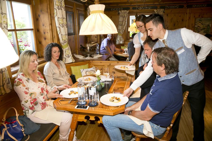 Bild 78 | Löwen Hotel Montafon: Erfolgreiches Four-Hands-Dinner in der Löwen Stube