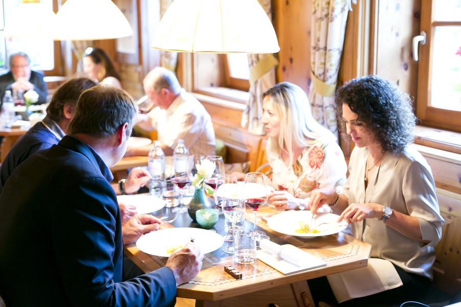 Bild 98 | Löwen Hotel Montafon: Erfolgreiches Four-Hands-Dinner in der Löwen Stube