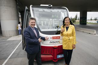 Bild 5 | Autonome E-Busse starten Fahrgasttestbetrieb