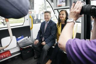Bild 26 | Autonome E-Busse starten Fahrgasttestbetrieb