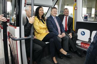 Bild 30 | Autonome E-Busse starten Fahrgasttestbetrieb