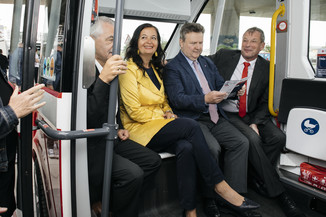 Bild 31 | Autonome E-Busse starten Fahrgasttestbetrieb