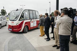 Bild 39 | Autonome E-Busse starten Fahrgasttestbetrieb