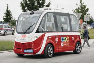 Bild 40 | Autonome E-Busse starten Fahrgasttestbetrieb
