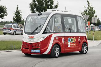 Bild 41 | Autonome E-Busse starten Fahrgasttestbetrieb