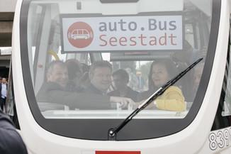 Bild 33 | Autonome E-Busse starten Fahrgasttestbetrieb