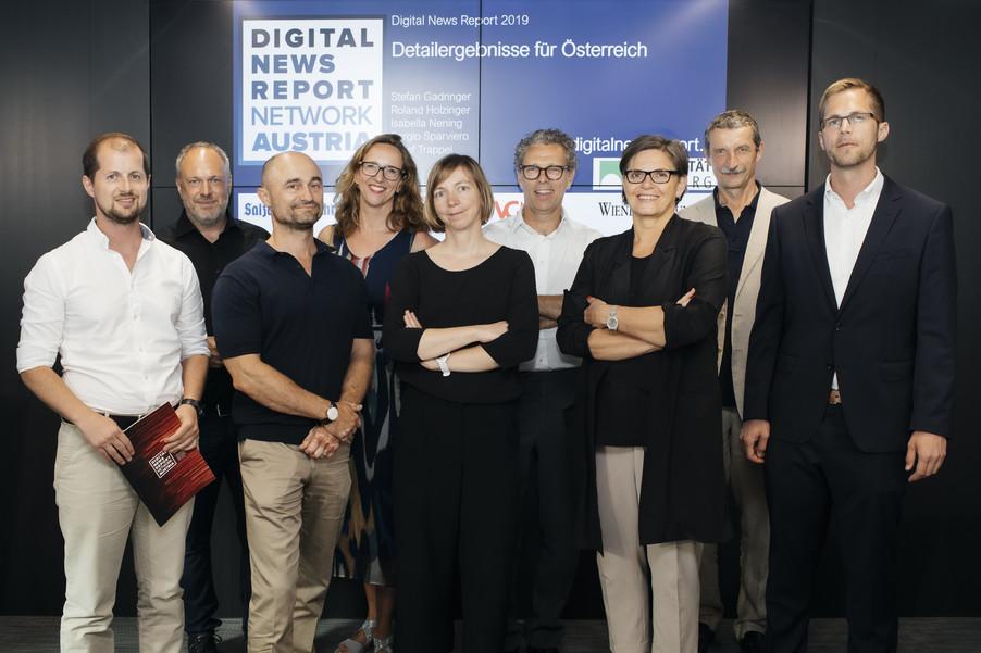 Bild 1 | Digital News Report 2019 - Österreichzahlen