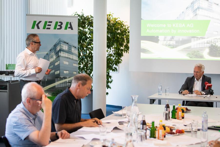Bild 2 | Jahrespressegespräch der KEBA AG