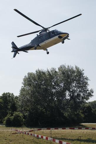 Bild 7 | Hubschrauberflug Vogelschutz