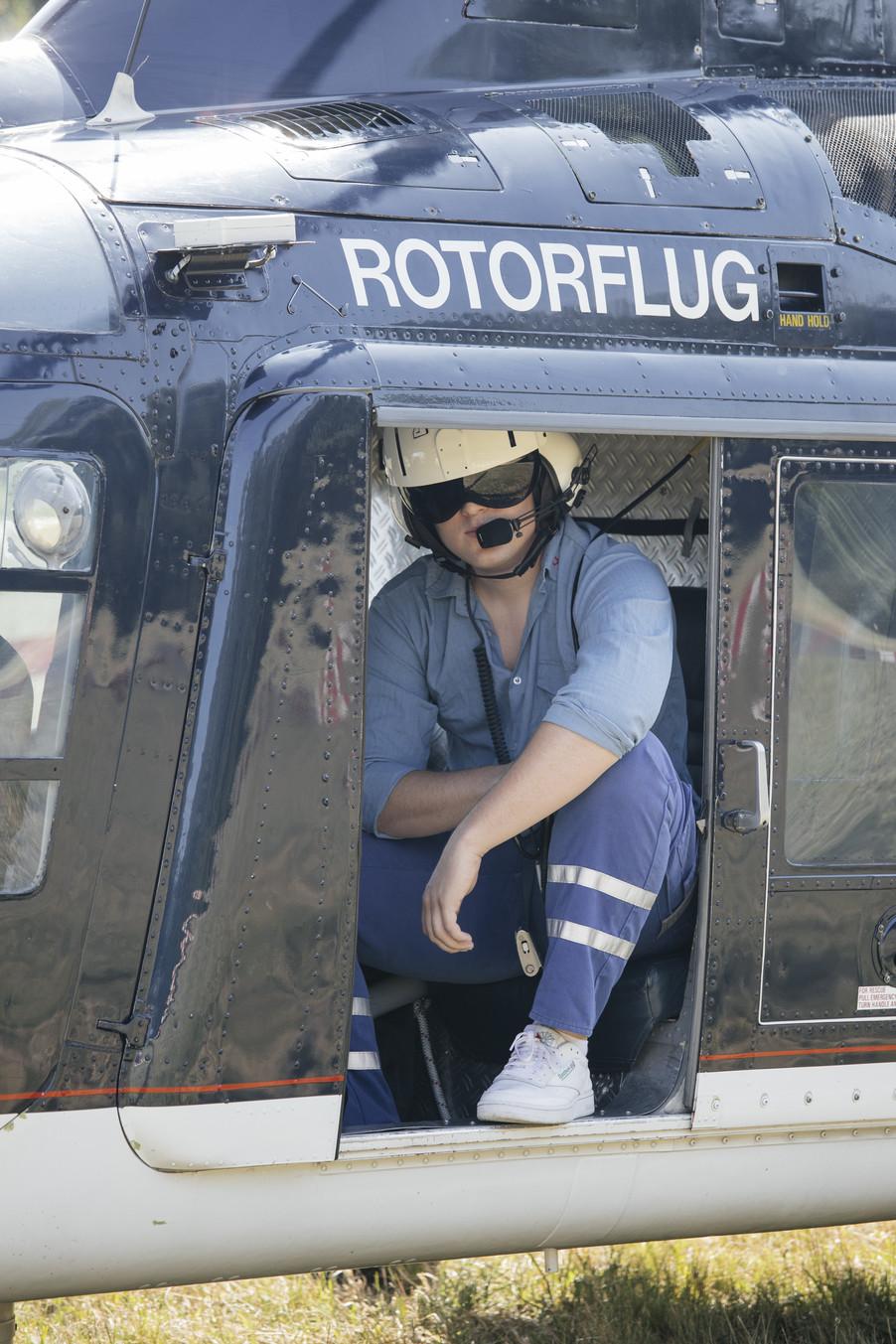 Bild 9 | Hubschrauberflug Vogelschutz