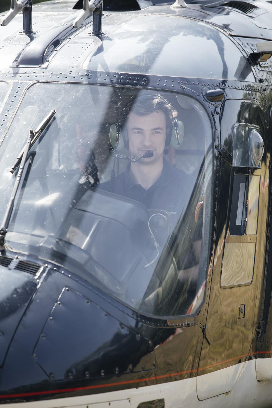 Bild 10 | Hubschrauberflug Vogelschutz