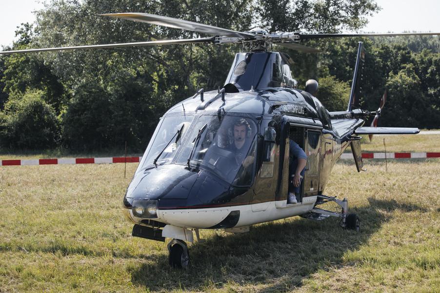 Bild 11 | Hubschrauberflug Vogelschutz