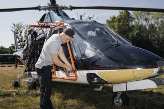 Bild 14 | Hubschrauberflug Vogelschutz