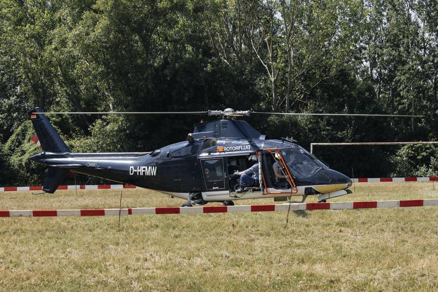 Bild 19 | Hubschrauberflug Vogelschutz