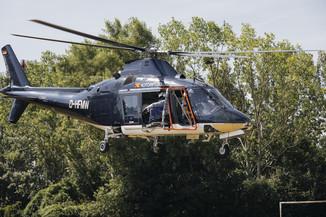 Bild 21 | Hubschrauberflug Vogelschutz