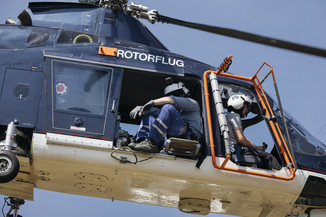 Bild 23 | Hubschrauberflug Vogelschutz