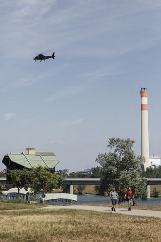 Bild 25 | Hubschrauberflug Vogelschutz