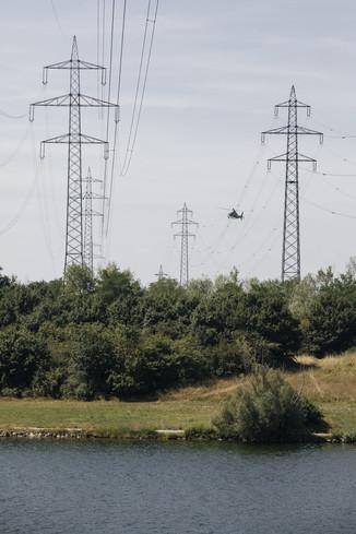 Bild 26 | Hubschrauberflug Vogelschutz