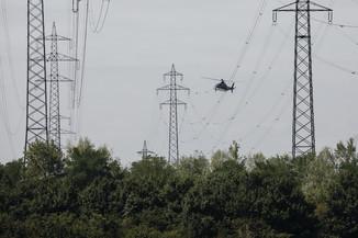 Bild 27 | Hubschrauberflug Vogelschutz