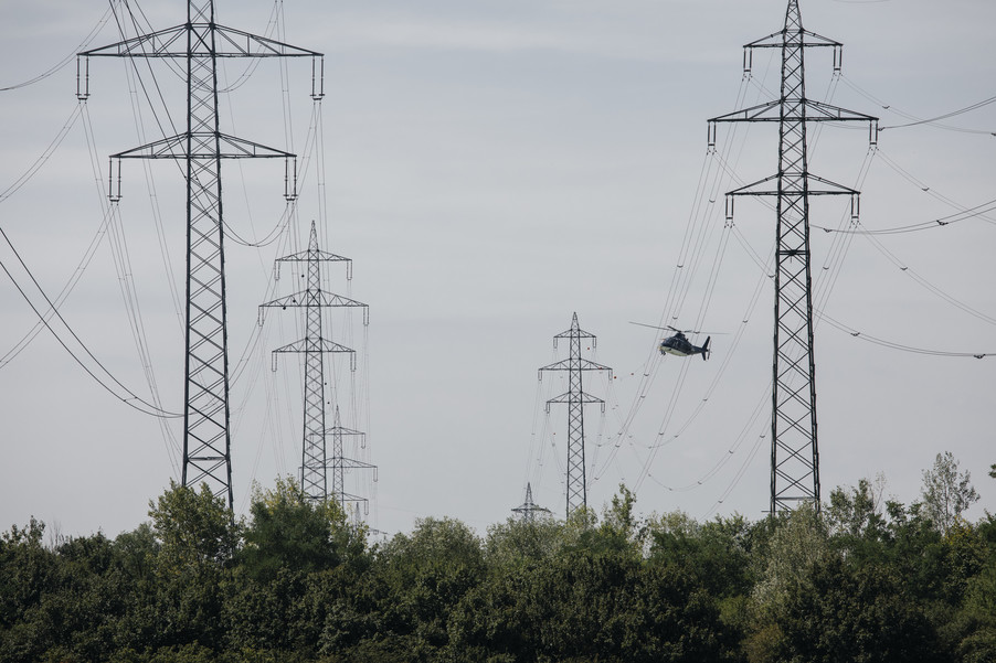 Bild 29 | Hubschrauberflug Vogelschutz