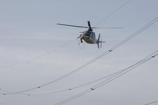 Bild 30 | Hubschrauberflug Vogelschutz