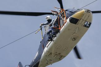 Bild 35 | Hubschrauberflug Vogelschutz