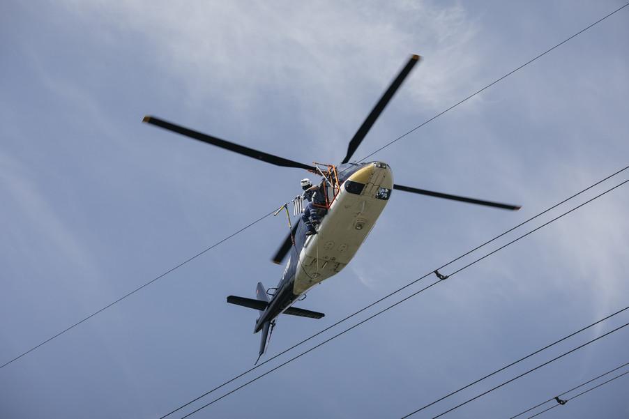 Bild 37 | Hubschrauberflug Vogelschutz