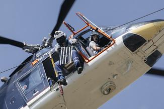 Bild 38 | Hubschrauberflug Vogelschutz
