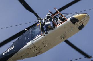 Bild 40 | Hubschrauberflug Vogelschutz