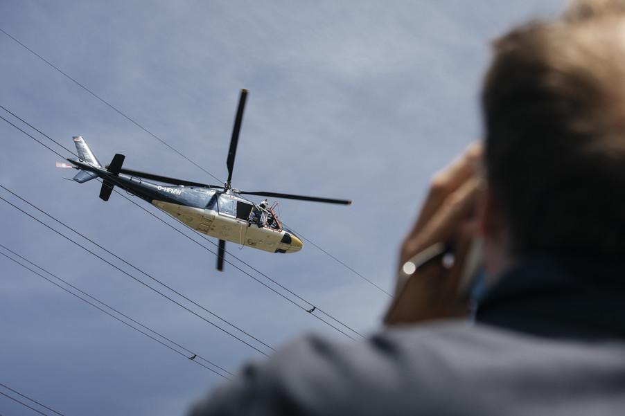 Bild 41 | Hubschrauberflug Vogelschutz