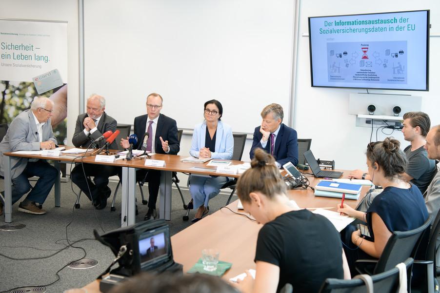 Bild 16 | Der Austausch von Sozialversicherungsinformationen  in der  EU ist jetzt online