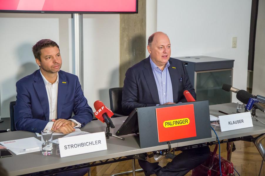 Bild 2 | Pressekonferenz PALFINGER AG