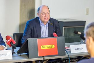 Bild 4 | Pressekonferenz PALFINGER AG