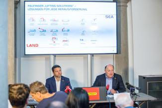 Bild 6 | Pressekonferenz PALFINGER AG