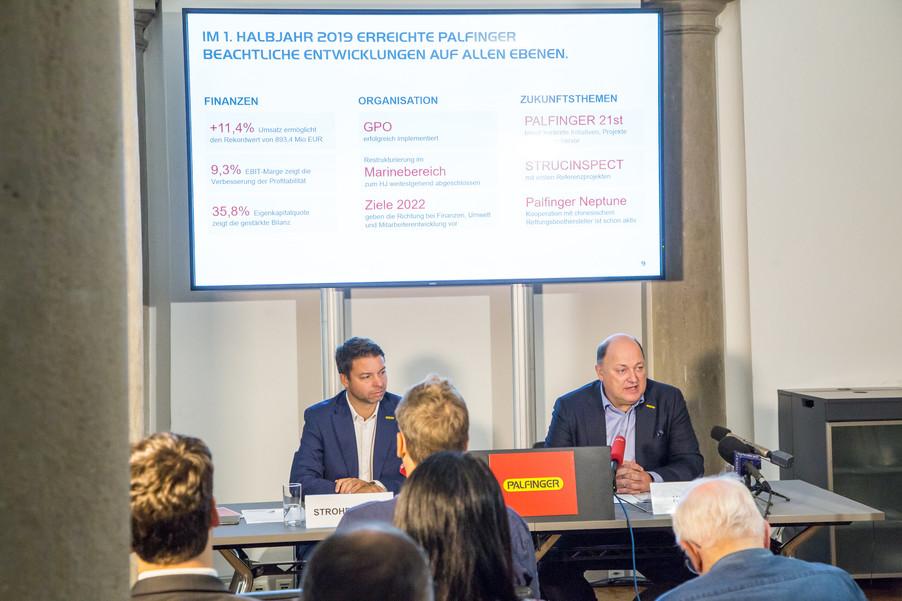 Bild 7 | Pressekonferenz PALFINGER AG