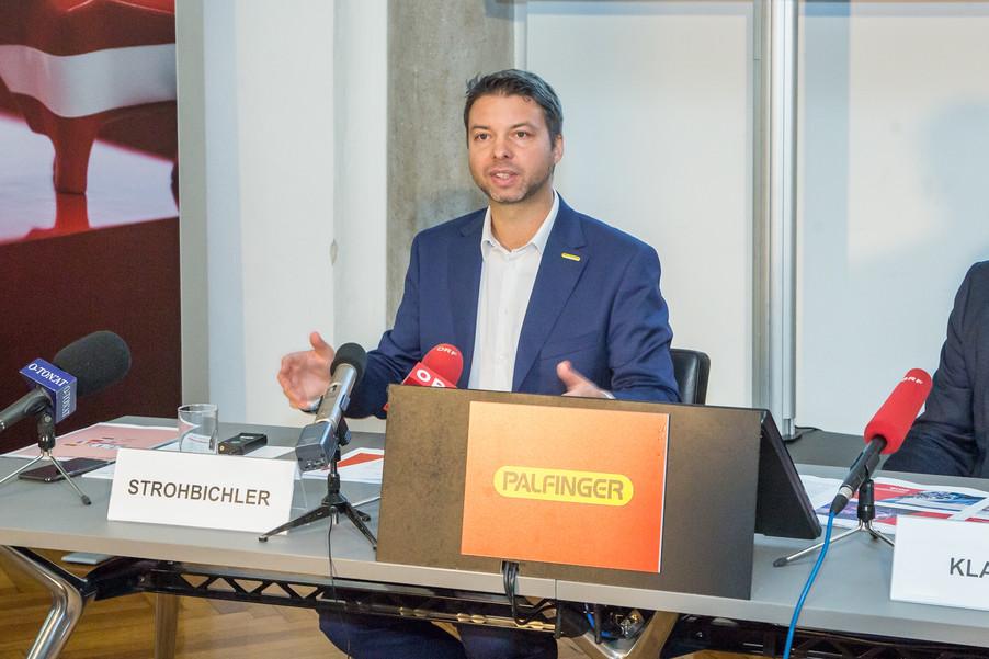 Bild 24 | Pressekonferenz PALFINGER AG